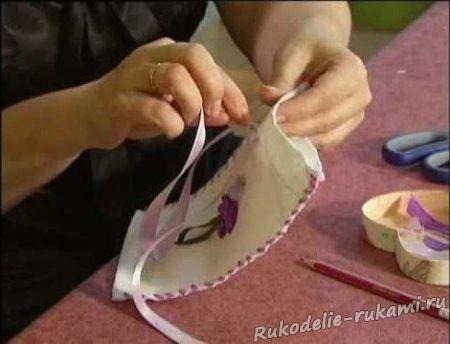 Вышивки лентами для начинающих