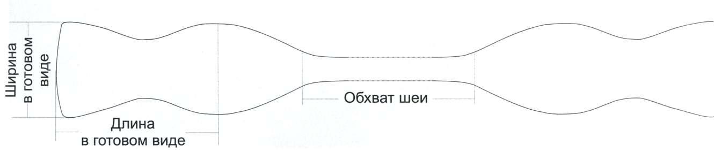 Сшить галстук бабочку своими руками выкройка