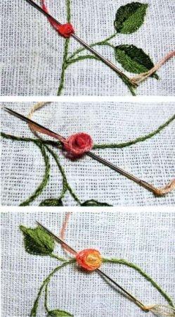 Объемные розы