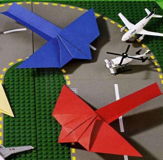 Поделки самолетиков из бумаги фото
