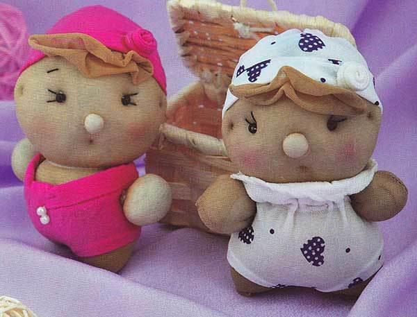 Куклы из капроновых носков своими руками фото 865