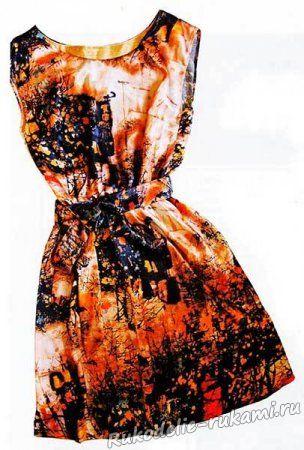 Как сшить простое платье