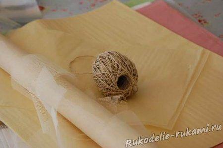 Перевод рисунка на ткань с помощью папиросной бумаги