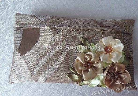 Вышивка ленточками на готовых изделиях (фото и видео) 48