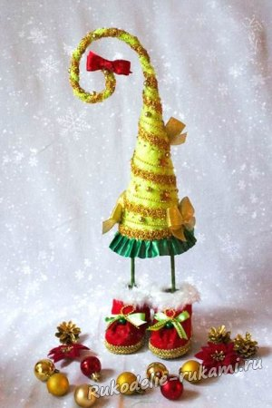 Елочка-топотушка